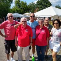 Bürgermeister Neßwald und das Team des SPD Ortsvereins